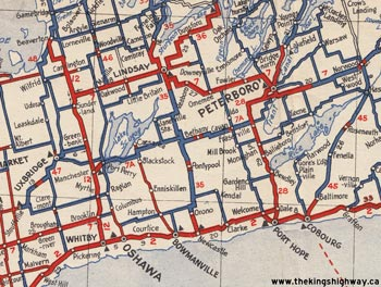 HWY 7A MAP - 1938