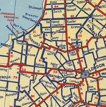 HWY 81 MAP - 1938