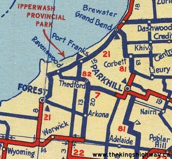 HWY 82 MAP - 1939