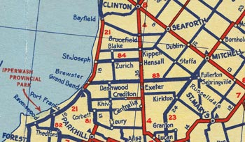 HWY 83 MAP - 1938