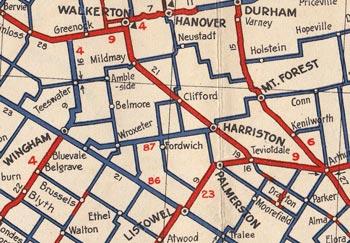 HWY 87 MAP - 1938