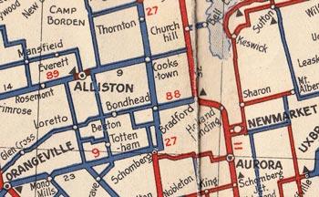 HWY 88 MAP - 1938