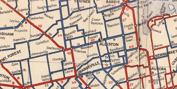 HWY 89 MAP - 1938