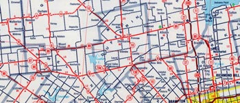 HWY 89 MAP - 1964