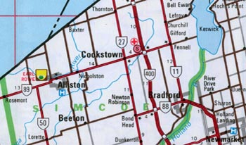 HWY 89 MAP - 1977