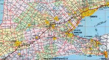 HWY 8 MAP - 1967