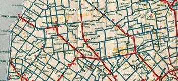 HWY 9 MAP - 1933