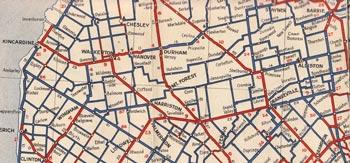 HWY 9 MAP - 1938