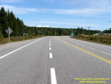 HWY 17 #1354 - © Cameron Bevers: An off-centreline view of Hwy 11 and Hwy 17 with highway curving to the right