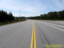 HWY 17 #1358 - © Cameron Bevers: A centreline view of Hwy 17 at the Hwy 11 Junction