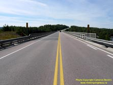 HWY 17 #1362 - © Cameron Bevers: A centreline view of Hwy 11 and Hwy 17 at the Nipigon River Bridge