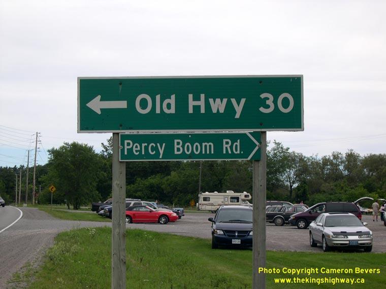 Ontario Highway 30 Photographs - History of Ontario's ...