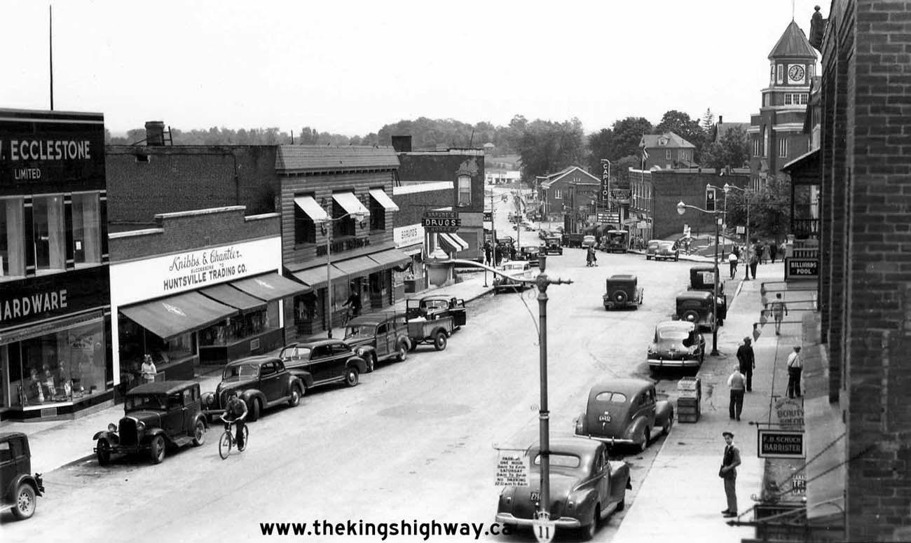 ontario highway 11b  huntsville  photographs