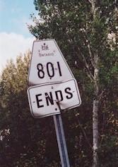 HWY 801 ERROR