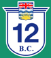 British Columbia Hwy 12 Sign Graphic