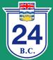 British Columbia Hwy 24 Sign Graphic