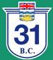 British Columbia Hwy 31 Sign Graphic