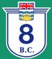 British Columbia Hwy 8 Sign Graphic