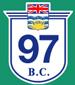 British Columbia Hwy 97 Sign Graphic