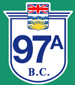 British Columbia Hwy 97A Sign Graphic