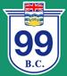 British Columbia Hwy 99 Sign Graphic