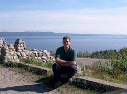 CAM AT AGAWA BAY LOOKOUT